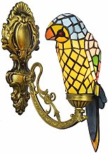 Applique Murale Perroquet De Style Tiffany,