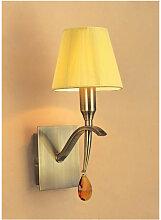 Applique murale Siena avec interrupteur 1 Ampoule