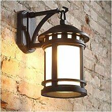 Applique Murale Vintage Luminaire Extérieur Lampe