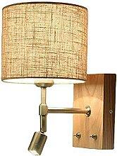 Appliques murales avec bouton réglable Lampe de