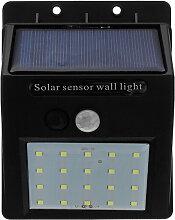 Appliques murales solaires à LED imperméables,