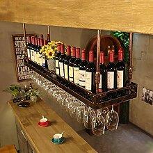 AQCHHL Vin Porte-Verre Casier à Vin Suspendu