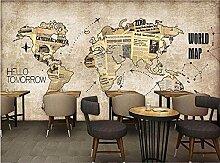 Aradeks Papier peint photo mural Motif carte du