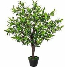Arbre artificiel olivier plante artificiel hauteur