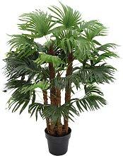 Arbre artificiel palmier RHAPIS tronc naturel -