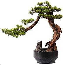 Arbre de bonsaï artificiel Simulation Bienvenue