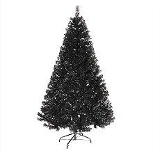Arbre de Noël artificiel entièrement noir, sapin