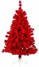 Arbre de Noël GÖTEBORG, rouge, neige