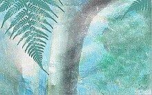 Arbre frais plante feuilles vertes papier peint
