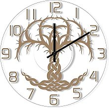 Arbre Horloge Murale Silencieuse Design Moderne