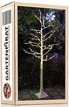 Arbre lumineux bouleau blanc 180 cm micro 160 LED