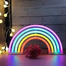 Arc-en-ciel LED Néon Lumières Art Coloré Néon