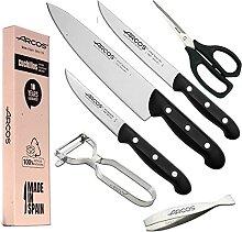 Arcos - Lot de 6 couteaux de cuisine Arcos - Arcos