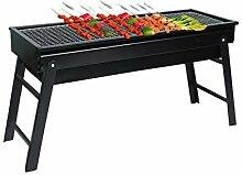 AREPLY Grand barbecue pliable épais en forme de L