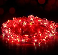 Ariceleo Guirlande lumineuse USB avec 100 LED