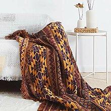 ARIESDY Housse de lit brodée en patchwork vintage