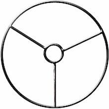 Armature abat-jour cercle avec bague Ø 25 cm -