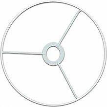 Armature abat-jour cercle avec bague Ø 35 cm -