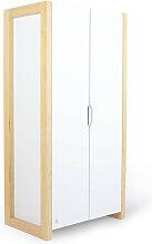 Armoire 2 portes FRAMA chambre enfant - Blanc