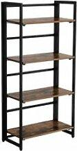 Armoire bibliothèque meuble de rangement 4