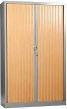armoire bureau arche à rideaux 120x198cm 1812