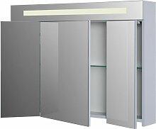 Armoire de toilette SEDUCTA 90 cm avec eclairage