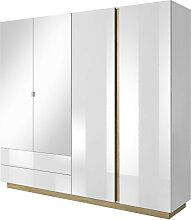Armoire dressing 4 portes 2 tiroirs , Gamme siena