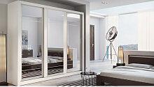 Armoire dressing design 3 portes coulissantes ,