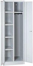 armoire entretien linge sur socle 1800x600x500 gris