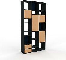 Armoire haute - Hêtre, design, pour documents,