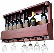 Armoire murale en bois de vin de vin,