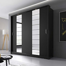 Armoire noire ARTI pour chambre adulte -