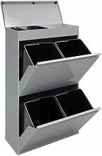 Arregui Top CR622-B Poubelle de recyclage en