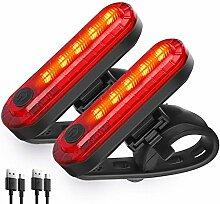 Arrière Bike Light LED Puissant USB Rechargeable,