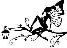 Art mural papillon fille autocollant mural