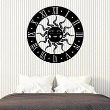 Art Stickers muraux en forme d'horloge solaire