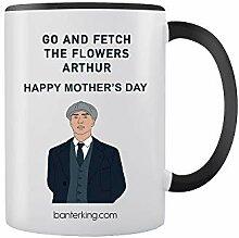Arthur Get The Flowers Mug bicolore pour la fête