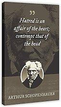 Arthur Schopenhauer Posters classiques avec