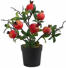 Artificielle Flowerpot Plantes Imitation Grenade