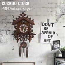 Artisanat Bois Coucou Horloge murale Pendule