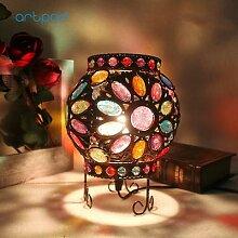 Artpad – lampe de Table turque multicolore en