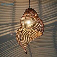 Artpad – lampe suspendue créative en bambou,