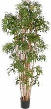 artplants.de Bambou Artificiel 1440 Feuilles,