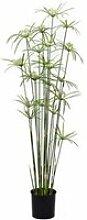 artplants.de Lot 2 x Cyperus Papyrus Artificiel