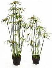 artplants.de Lot 2 x Papyrus Artificiel Moussa,
