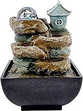 Asdasd Fontaine Fluide géométrique créative,