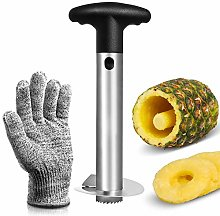 Asdirne Coupe Ananas, Decoupe Ananas avec Lame en