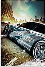 ASDJJ Impression sur toile « Need For Speed Most