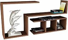 Asir Group LLC finito Wooden Art-étagère Murale