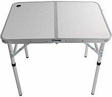Asixxsix Table de Camping Pliable, Table de